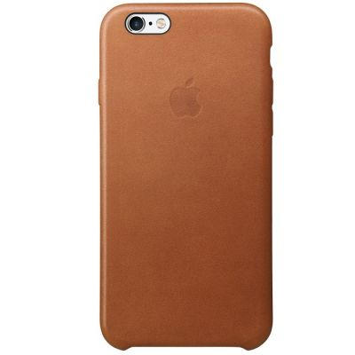 ����� Apple ��� iPhone 6/6s Leather Case - Saddle Brown MKXT2ZM/A