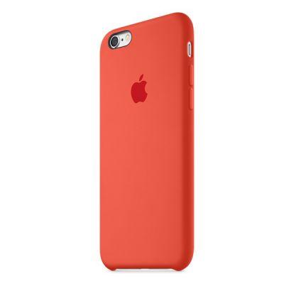 Чехол Apple iPhone 6/6s Silicone Case - Orange MKY62ZM/A