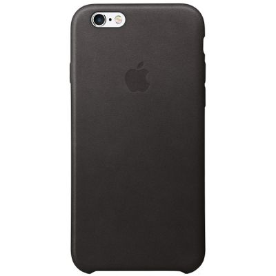 Чехол Apple для iPhone 6/6s Leather Case - Black MKXW2ZM/A