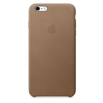 Чехол Apple для iPhone 6 Plus/ 6s Plus Leather Case - Brown MKX92ZM/A