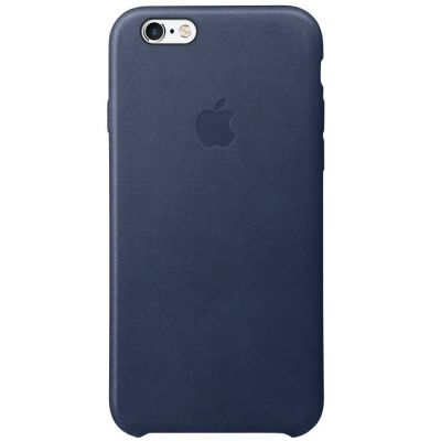 ����� Apple ��� iPhone 6 Plus/ 6s Plus Leather Case - Midnight Blue MKXD2ZM/A