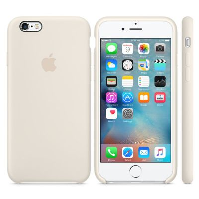 Чехол Apple iPhone 6/6s Silicone Case - Antique White MLCX2ZM/A