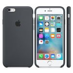 ����� Apple iPhone 6/6s Silicone Case - Charcoal Gray MKY02ZM/A