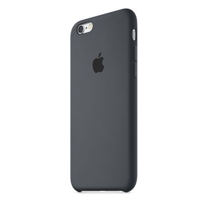 Чехол Apple iPhone 6/6s Silicone Case - Charcoal Gray MKY02ZM/A