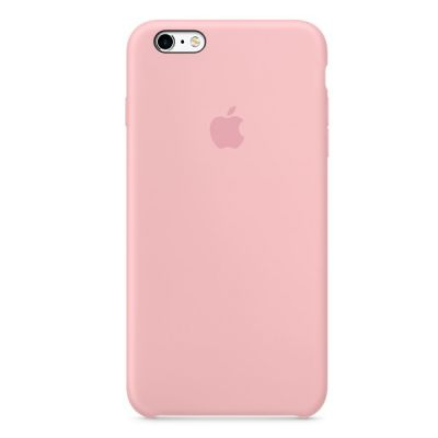 Чехол Apple iPhone 6/6s Silicone Case - Pink MLCU2ZM/A