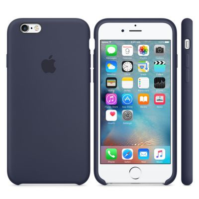 ����� Apple iPhone 6/6s Silicone Case - Midnight Blue MKY22ZM/A