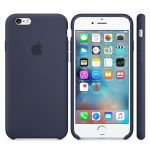 Чехол Apple iPhone 6/6s Silicone Case - Midnight Blue MKY22ZM/A