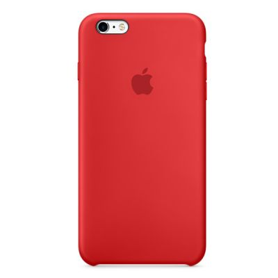 Чехол Apple iPhone 6 Plus/6s Plus Silicone Case - RED MKXM2ZM/A