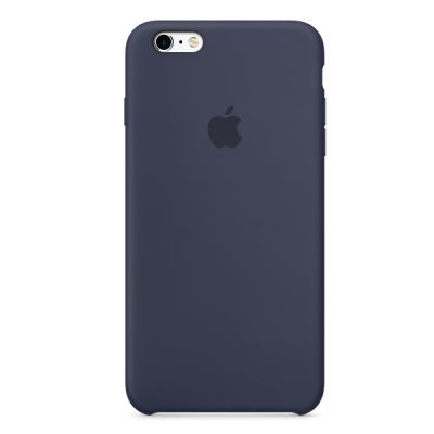 Чехол Apple iPhone 6 Plus/6s Plus Silicone Case - Midnight Blue MKXL2ZM/A