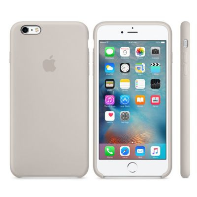 Чехол Apple iPhone 6 Plus/6s Plus Silicone Case - Stone MKXN2ZM/A