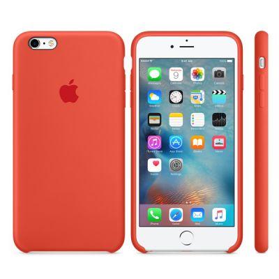 Чехол Apple iPhone 6 Plus/6s Plus Silicone Case - Orange MKXQ2ZM/A