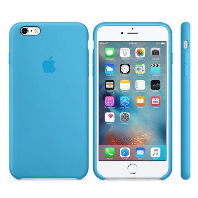 ����� Apple iPhone 6 Plus/6s Plus Silicone Case - Blue MKXP2ZM/A