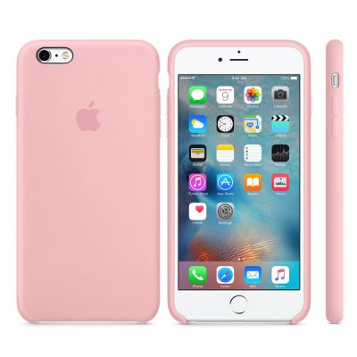 ����� Apple iPhone 6 Plus/6s Plus Silicone Case - Pink MLCY2ZM/A