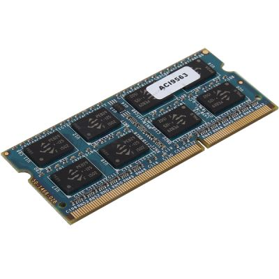 ����������� ������ Patriot DDR3 8Gb 1600MHz PC3-12800 CL11 SO-DIMM 204-pin 1.5� PSD38G16002S