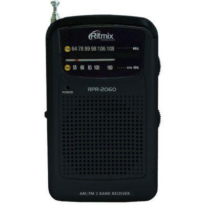 Ritmix радиоприемник карманный RPR-2060 черный 15112694