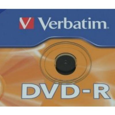 Verbatim Диск DVD-R Verbatim 8.5Gb 8x Cake Box (50шт) Double Layer Printable (43819)