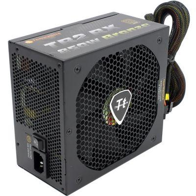 Блок питания Thermaltake ATX 850W 80+ Bronze,APFC, 140mm fan, Cab Manag, RTL TRX-850MPCEU