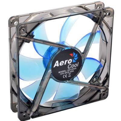 """Вентилятор Aerocool Lightning 12см """"Blue Edition"""" (синяя подсветка)"""