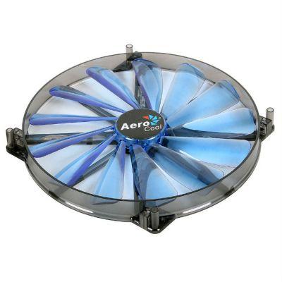 """Вентилятор Aerocool Lightning 20см """"Blue Edition"""" (синяя подсветка)"""