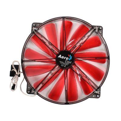 """Вентилятор Aerocool Lightning 20см """"Red Edition"""" (красная подсветка)"""
