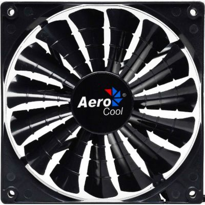 "Вентилятор Aerocool Shark 12см ""Black Edition"" (без подсветки)"