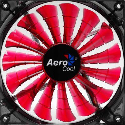"Вентилятор Aerocool Shark 14см ""Devil Red Edition"" (красная подсветка)"