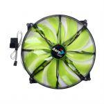 "Вентилятор Aerocool Silent Master 20см ""Green LED"" (зеленая подсветка)"