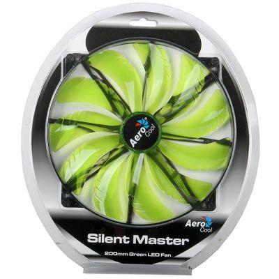 "���������� Aerocool Silent Master 20�� ""Green LED"" (������� ���������)"