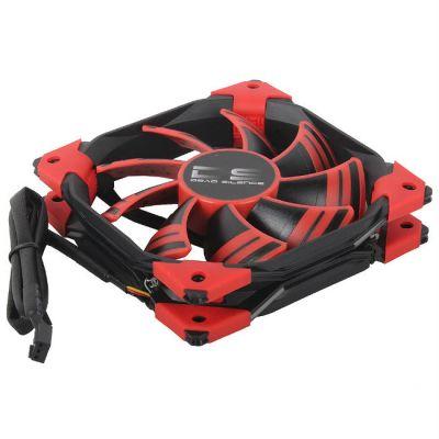 Вентилятор Aerocool DS 12см Red (красная подсветка)