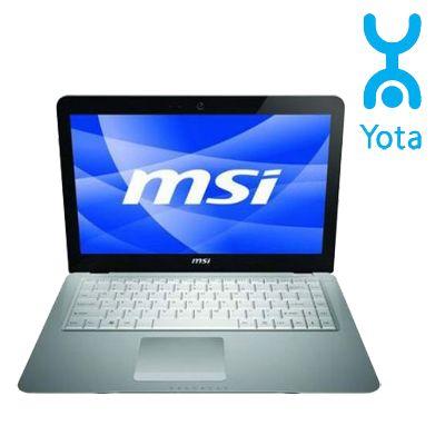 Ноутбук MSI X-Slim X340-041RU Silver