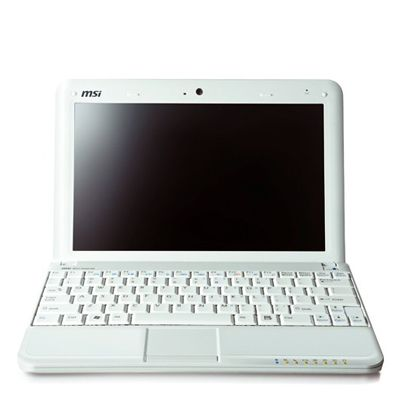 Ноутбук MSI Wind U100-094 Perl-White