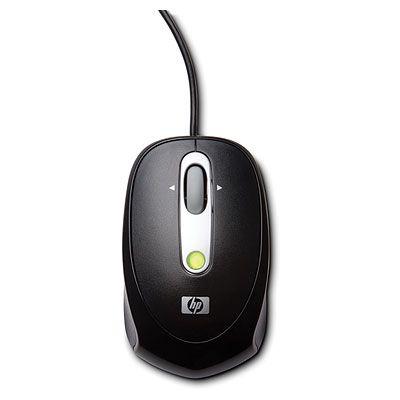 Мышь проводная HP лазерная мобильная мини FQ983AA