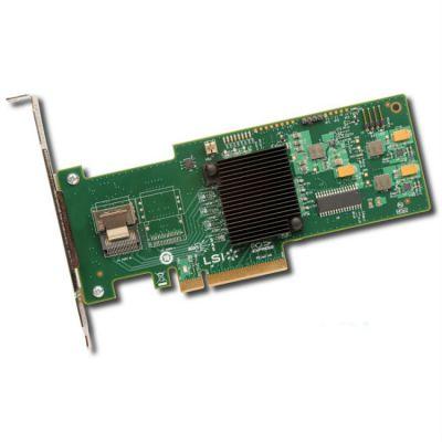 Контроллер LSI серверный MegaRAID SAS9240-4I SGL (LSI00199)