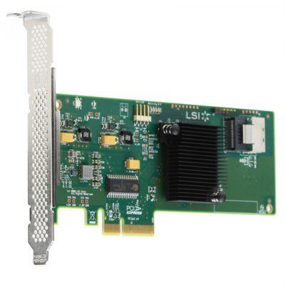 Контроллер LSI серверный SAS9211-4I SGL (LSI00190)