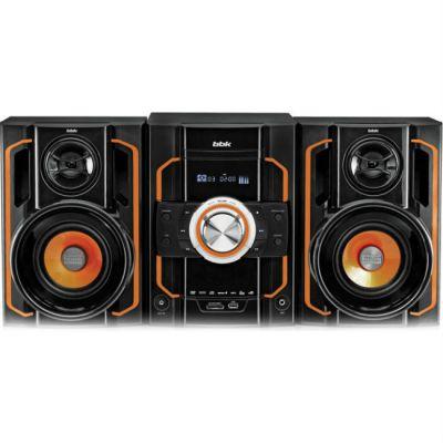 Аудиоцентр BBK черный/оранжевый 250Вт AMS303U