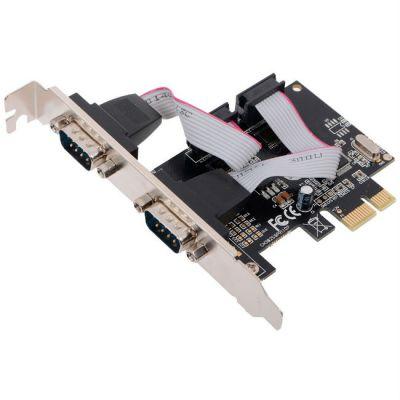 Контроллер Orient XWT-PE2S (PCI-E -->2xCOM, OXPCIe 952) Ret