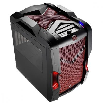 Корпус Aerocool Strike-X Cube Red Edition