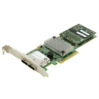 Контроллер LSI серверный MegaRAID SAS9286-8E SGL (LSI00332)