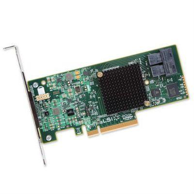 Контроллер LSI серверный MegaRAID SAS9341-8I SGL (LSI00407)