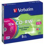 Диск Verbatim CD-RW 43167