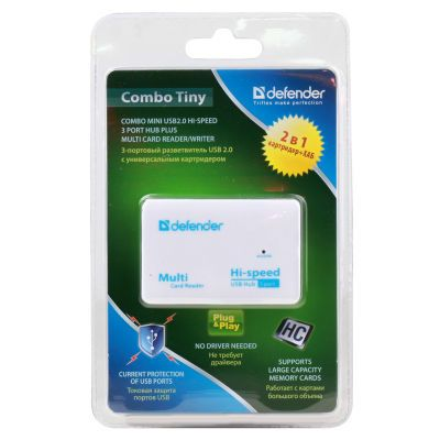 USB-Концентратор Defender COMBO TINY