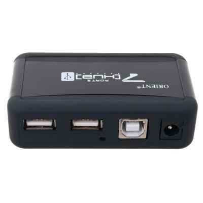 Аксессуар Orient USB-концентратор KE-700NP/N