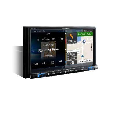 """Автомагнитола Alpine 2-DIN, навигацион. система GPS, 7"""" LCD WVGA, 4х50Вт INE-W997D"""