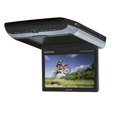 """Монитор Alpine автомобильный 10.2"""" с DVD-проигрывателем, USB, HDMI, комплект с ИК-наушниками (2пары) PKG-RSE3HDMI"""