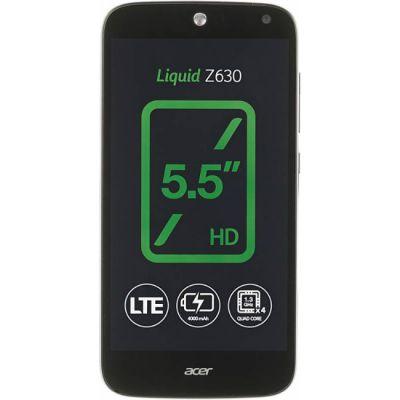 Смартфон Acer Liquid Z630 16Gb LTE Black HM.HQEEU.002
