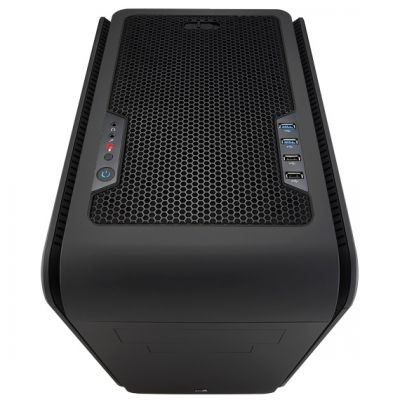 Корпус Aerocool DS Cube Window Black (чёрный, с окном)