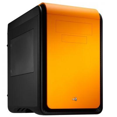 Корпус Aerocool DS Cube Window Orange (оранжевый, с окном)