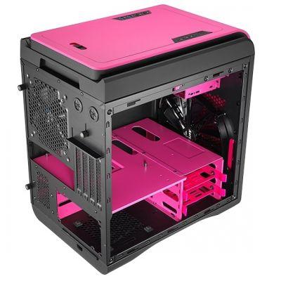 Корпус Aerocool DS Cube Pink (розовый)