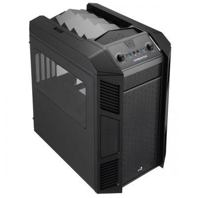 Корпус Aerocool XPredator Cube Black Edition (черный)