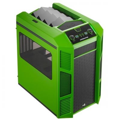 Корпус Aerocool XPredator Cube Green Edition (зеленый)